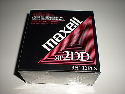 3.5 in. DSDD unformatted DS floppy disks. Double sided double density 2DD new
