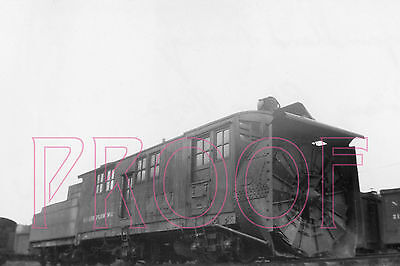 Newfoundland Railways Rotary Plow 2 at Humbermouth in 1943 - 8x10 Photo