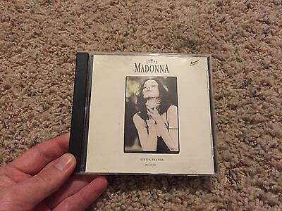 Madonna Like A Prayer (Remixes) Promo Rare 1989 Usa 5 Track Cd Sire Pro-Cd-3448
