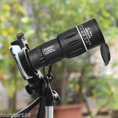 Optical Monocular Scope Outdoor Wildlife Hunting Camping Hiking Telescope 16X52