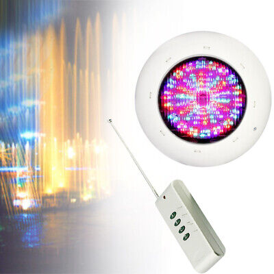 Multicolor  RGB LED Swimming Pool Light Remote Control SPA Underwater Lamp IP68
