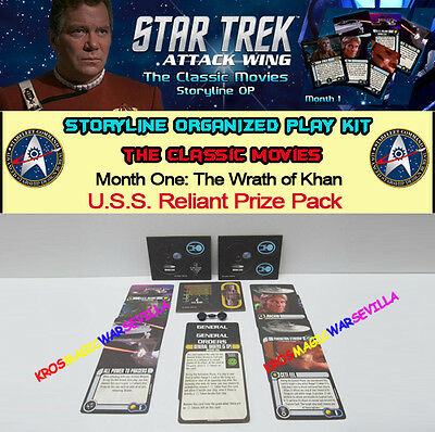STAR TREK ATTACK WING THE CLASSIC MOVIES THE WRATH OF KHAN - U.S.S. Reliant Pack