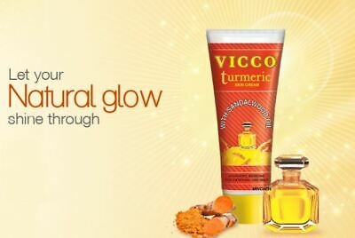 VICCO Turmeric Skin Cream Ayurvedic Medicine Not Animal Tested 15g 30g 50g 70g