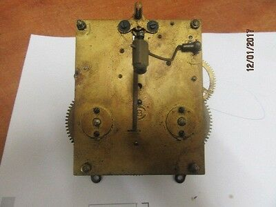 Clock Movement Ideal For Spares Or Repair