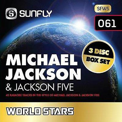 Sunfly Karaoke World Stars Vol.61 Michael Jackson (CD+G) - Direct From Sunfly