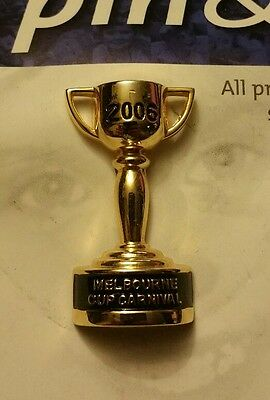 2006 Melbourne Cup Carnival Pin/Badge (AFFIXED TO CARD)
