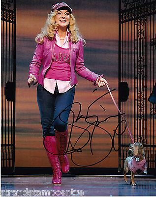 "Sheridan Smith - Colour 10""x 8"" Signed 'Stage Show' Photo - UACC RD223"