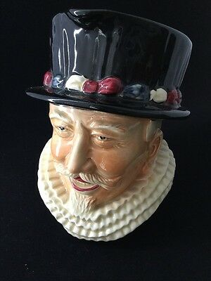 Shorter & Son Beefeater Toby Jug - 16.5 Cm Tall