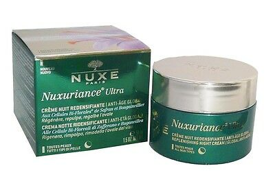 Nuxe Nuxuriance Ultra Creme Nuit Redensifiante Anti Age Global 50Ml