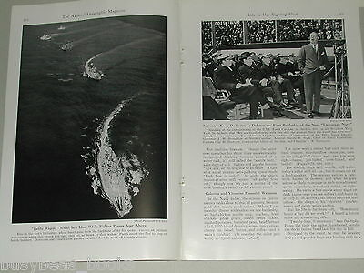 1941 magazine article on the US Navy, Sailor's Life on board