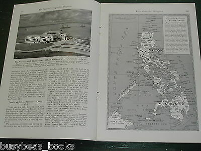 1942 magazine article on PHILIPPINES, natives, history, WWII etc