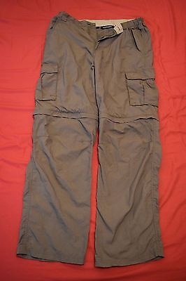 Mountain Life Extreme convertible zip off trousers size 34R