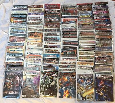 IDW Transformers 300 Comics Lot MTME RID Spotlight Wreckers Dinobots Movies More