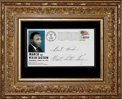 Martin Luther King Jr March on Washington Collector's Envelope *Z904