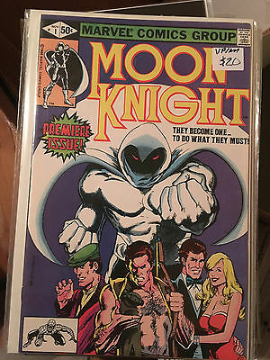 MOON KNIGHT #1 VF/NM 1st Print BILL SIENKIEWICZ comic