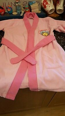 baby girls fifi dressing gown size 12/18 months in great condition