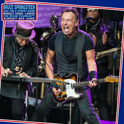 Bruce Springsteen. 2016. Wembley. London. 3 Cd. Sounboard. The River Tour.