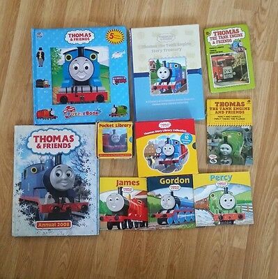 Thomas the tank engine book bundle 25 bks incl 5 puzzles,annual and 2 vintage bk