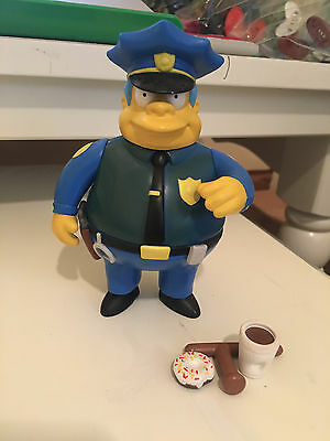 CHIEF WIGGUM The Simpsons Loose Complete World of Springfield toy Maggie