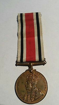 Bronze GV 'For Faithful Service In The Special Constabulary' Medal