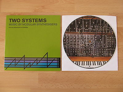"Wrangler/scanner - Two Systems 7"" Vinyl Picture Disc Single Limited Moog"