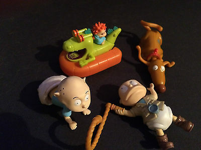 The Rugrats Collection Burger King Plastic Toys