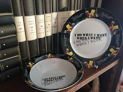 Bart Simpson The Simpsons Breakfast Set Plate & Bowl Ideal Gift