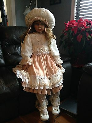 """LIMITED EDITION 42"""" DOLL BY William Tung #339/500 Signed Tuss RARE! Large Superb"""