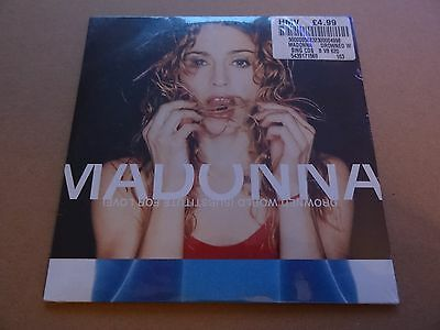 Madonna Drowned World Substitute For Love Factory Sealed Rare Card Sleeve German