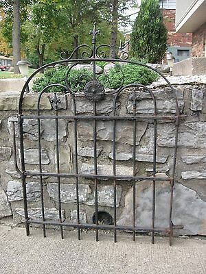 1890's Early 1900's Wrought Iron Gate