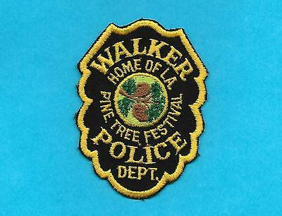 "Louisiana- Walker Police Dept- ""home Of Pine Tree Festival""-Old Style-Twill"