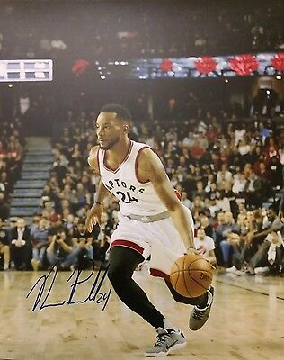 Norman Powell Autographed Hand Signed 8x10 Photo