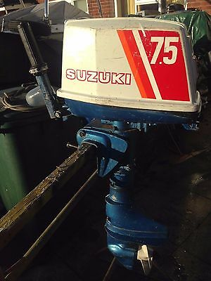 Suzuki Dt 7.5Hp Short Shaft Outboard Engine