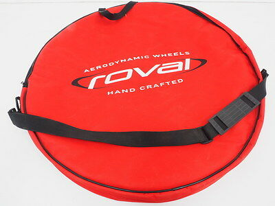 """NEW! Roval Cycling Double Padded Wheel Bag Red/White 700c/29"""""""