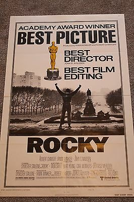 Rocky (Original 1977 Us One Sheet Poster, Academy Awards Style)