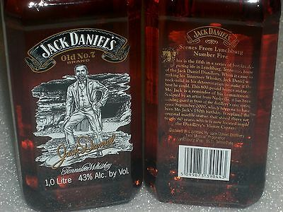 1- JACK DANIEL'S ~ SCENES FROM LYNCHBURG ~ SEVEN ♦ Nº 5 ♦ OLD Label ♦ Exhausted