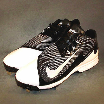 Nike Air Swingman Legend Baseball Cleats Black/White