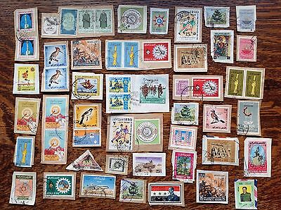 Collection Of Iraq Stamps Kiloware