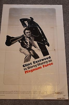 Magnum Force (Original 1973 Us One Sheet Poster, Clint Eastwood)