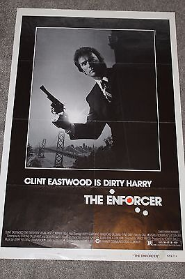 The Enforcer (Original 1976 Us One Sheet Poster, Clint Eastwood)
