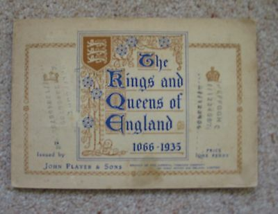 Players Kings & Queens of England 1935 set of 50 in album