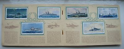 Players Modern Naval Craft 1939 set of 50 in album