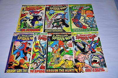 Amazing Spider-Man 103 104 105 106 107 108 109 Lot NICE Capital City Collection