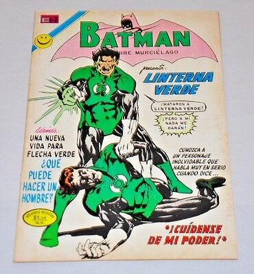 Green Lantern 87 Mexico Version 1972 RARE Batman 647 1st John Stewart