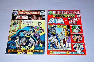 Brave And The Bold 111 113 HIGH GRADE Lot Joker Batman