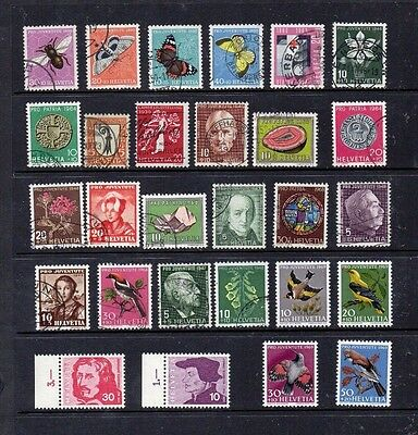 Switzerland Selection of MNH and used  mainly Pro Juv stamps (28 stamps)