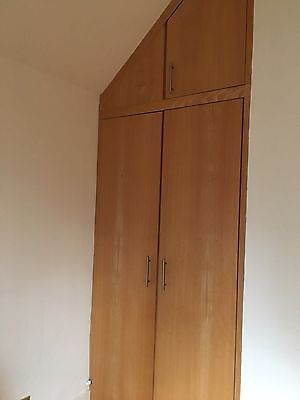 Fitted wardrobe and chest of drawers