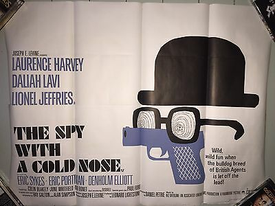 The Spy With A Cold Nose - Vintage Movie Film Poster