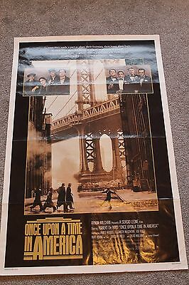 Once Upon A Time In America (Original 1984 Us One Sheet Poster)