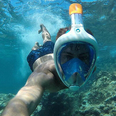 Tribord Blue Easybreath XS Full Face Snorkeling Mask Extra Small Subea Snorkel